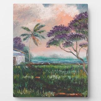 Jacaranda Beach House Plaque