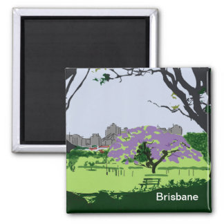 Jacaranda In Bloom Magnet