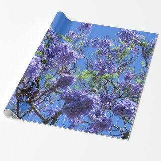 Jacaranda Tree Wrapping Paper