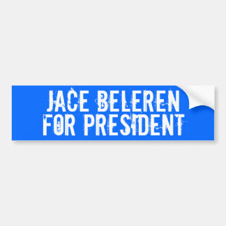 Jace Beleren, For President Bumper Sticker