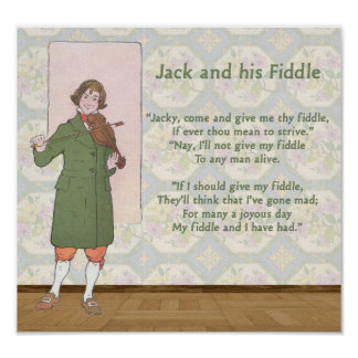 Jack and his Fiddle Poster