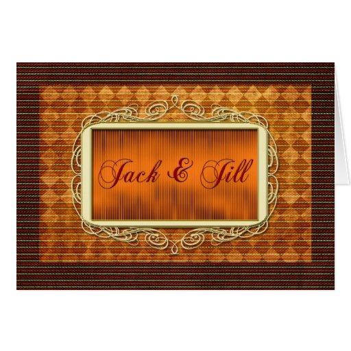 Jack and jill invitation greeting cards zazzle for Jack e jill house