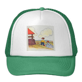 Jack and Jill went up the hill Trucker Hat