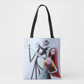 Jack and Sally Dancing Tote Bag