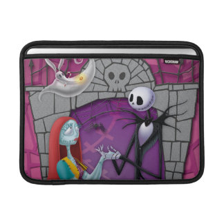 Jack and Sally Holding Hands MacBook Sleeve