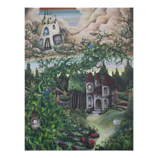 Jack and the Beanstalk print Photograph