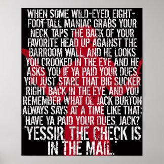 Jack Burton poster