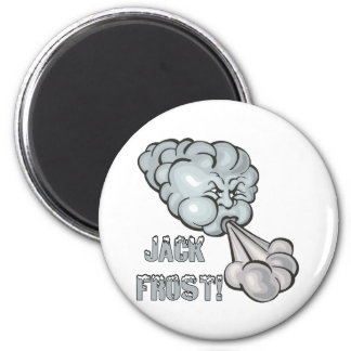Jack Frost 2 2 Inch Round Magnet