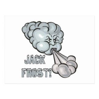 Jack Frost 2 Postcard