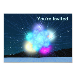 "Jack Frost 5"" X 7"" Invitation Card"