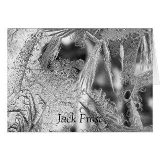 """Jack Frost"" Christmas Greeting Card"