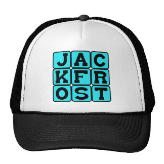 Jack Frost, Christmas Visitor Hats