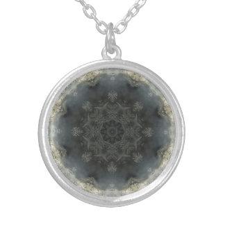 Jack Frost I Round Pendant Necklace