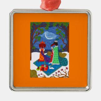 Jack Frost Ornament - Premium Square