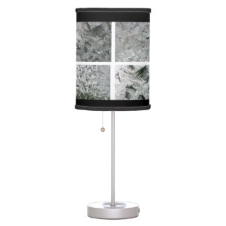 Jack Frost patterns lamp