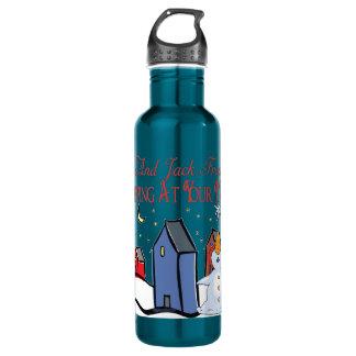 Jack Frost 24oz Water Bottle