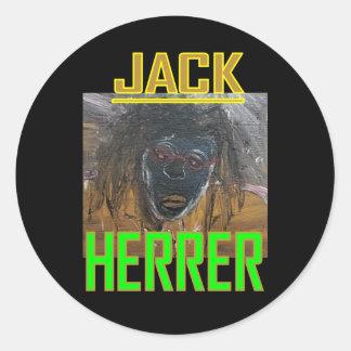 JACK HERRER CLASSIC ROUND STICKER