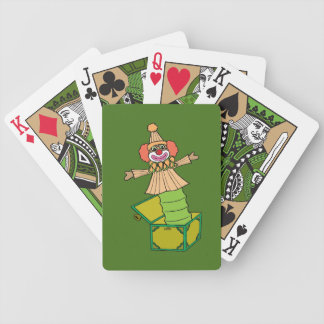 Jack in a Box Bicycle Playing Cards