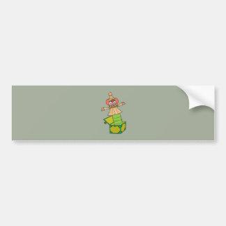 Jack in a Box Bumper Sticker