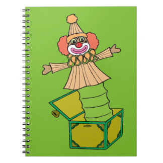 Jack in a Box Notebook