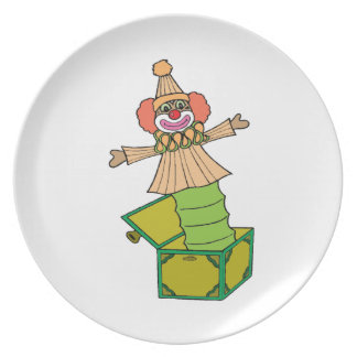 Jack in a Box Plate