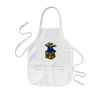jack in the box kids apron