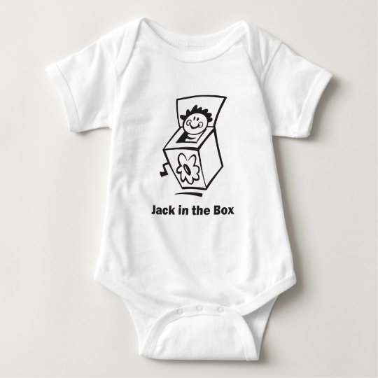 Jack in the Box Baby Bodysuit