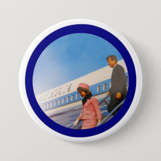 Jack & Jackie: Dallas 1963 3 Inch Round Button