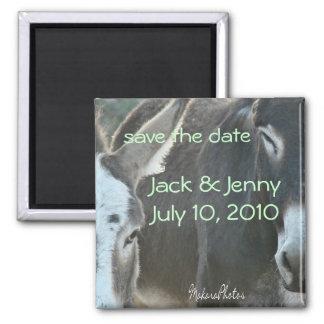 Jack & Jenny-customize Magnet