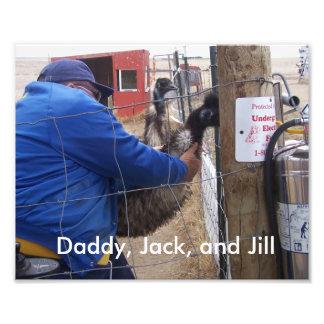 Jack, Jill, and Randy Photograph