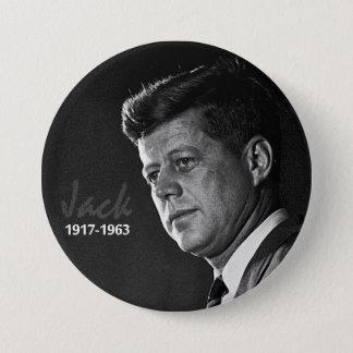 Jack Kennedy 1917-1963 3 Inch Round Button