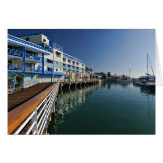 Jack London Square Marina Panorama Card