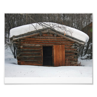 Jack London's Log Cabin Photo Print