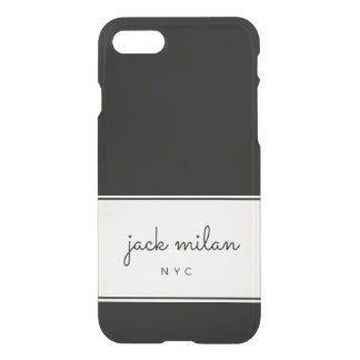 Jack Milan Signature iPhone Shell 6/6S/7/8 iPhone 8/7 Case