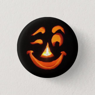 Jack-O-Flair 1 Inch Round Button