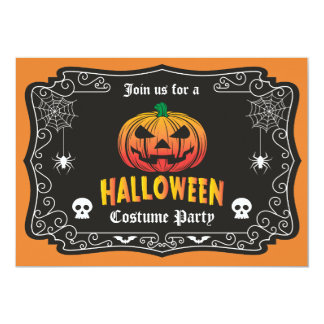 Jack O' Halloween Party Invitation