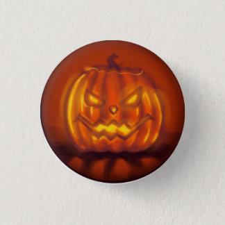 Jack O' Lantern 1 Inch Round Button