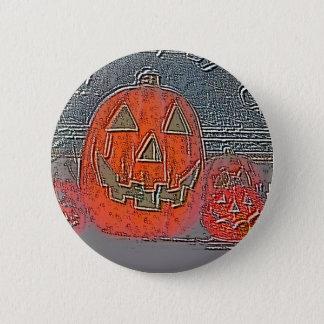 Jack-O Lantern 2 Inch Round Button