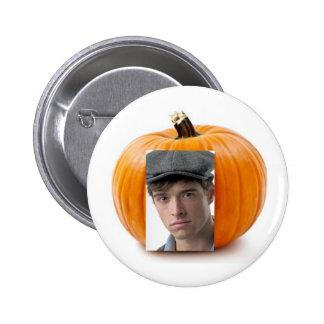 Jack-O-Lantern 2 Inch Round Button