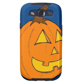 Jack o' Lantern Blue Samsung Galaxy S III Case