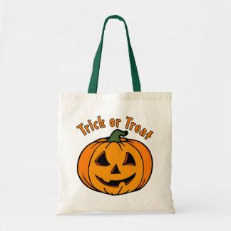 Jack O Lantern Carved Pumpkin Trick or Treat