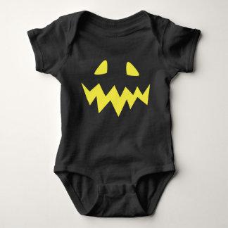 Jack O Lantern Face Baby Bodysuit