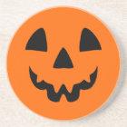 Jack-O-Lantern Face Coaster