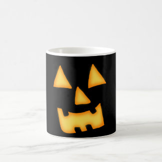 Jack-o-lantern Face Coffee Mug