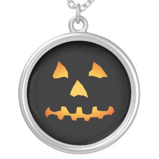 Jack-o-Lantern Face: Halloween: Necklace