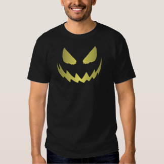 Jack-O-Lantern Face Halloween Tshirt
