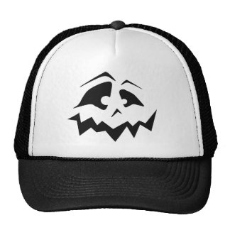 Jack-O-Lantern Face Hat