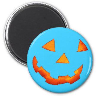Jack-o'-Lantern Face magnet