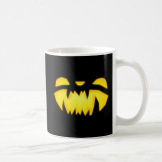 Jack-o-lantern Face Coffee Mug