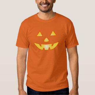 Jack-O-Lantern Face Orange Halloween T-shirt